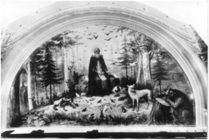 Встреча преподобных Павла и Сергия